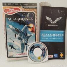 Videojuegos y Consolas: JUEGO PSP - ACE COMBAT X, EMBOSCADA EN EL CIELO. Lote 205826756