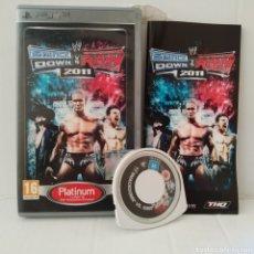 Videojuegos y Consolas: JUEGO PSP - SMACK DOWN VS RAW 2011. Lote 205827170