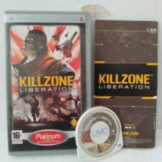 Videojuegos y Consolas: JUEGO PSP - KILLZINE LIBERATION. Lote 205828542