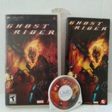 Videojuegos y Consolas: JUEGO PSP - GHOST RIDER. Lote 205830055
