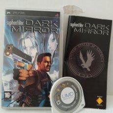 Videojuegos y Consolas: JUEGO PSP - DARK MIRROR. Lote 205830557