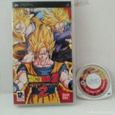 Videojuegos y Consolas: JUEGO PSP - DRAGON BALL Z SHIN BUDOKAN 2. Lote 205830746