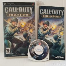 Videojuegos y Consolas: JUEGO PSP - CALL OF DUTY ROADS OF VICTORY. Lote 205831043