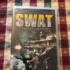 Videojuegos y Consolas: SWAT TARGET LIBERTY PSP PAL UK NUEVO PRECINTADO. Lote 205865933
