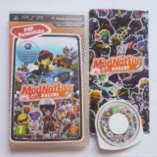 Videojuegos y Consolas: MODNATION RACERS PSP PLAYSTATION. Lote 205868205