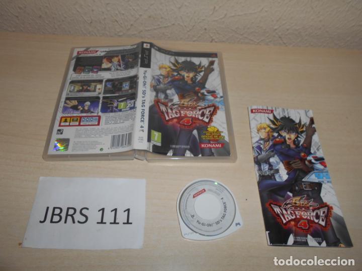 PSP - YU GI OH 5D,S TAG FORCE 4 , PAL ESPAÑOL , COMPLETO (Juguetes - Videojuegos y Consolas - Sony - Psp)