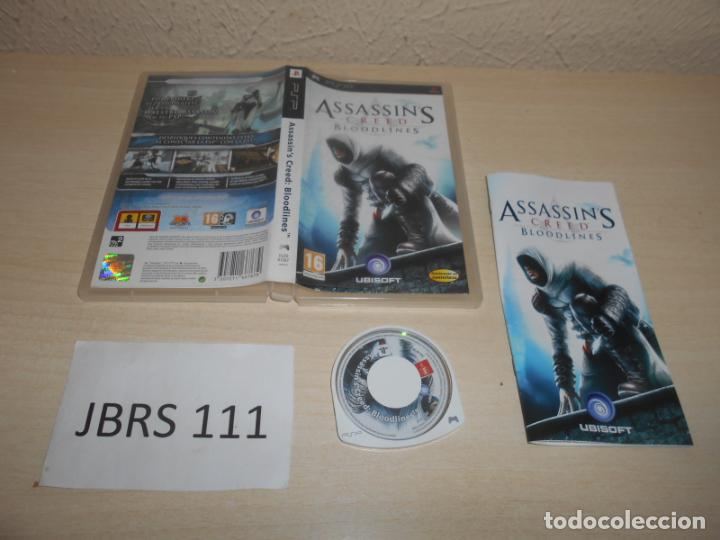 Videojuegos y Consolas: PSP - ASSASSINS CREED BLOODLINES , PAL ESPAÑOL , COMPLETO - Foto 1 - 206157548