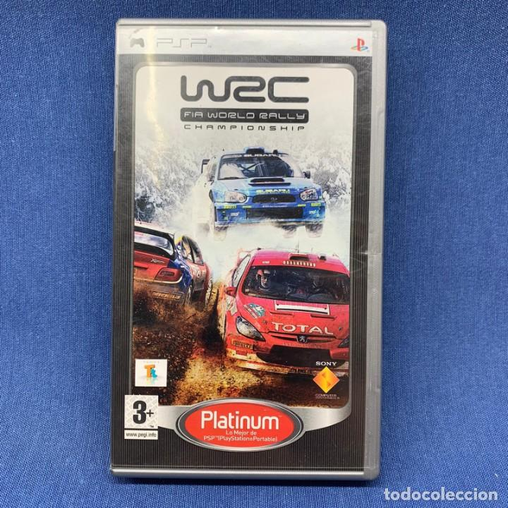 VIDEOJUEGO - PSP - PLAYSTATION PORTABLE - WRC - FIA WORLD RALLY CHAMPIONSHIP (Juguetes - Videojuegos y Consolas - Sony - Psp)