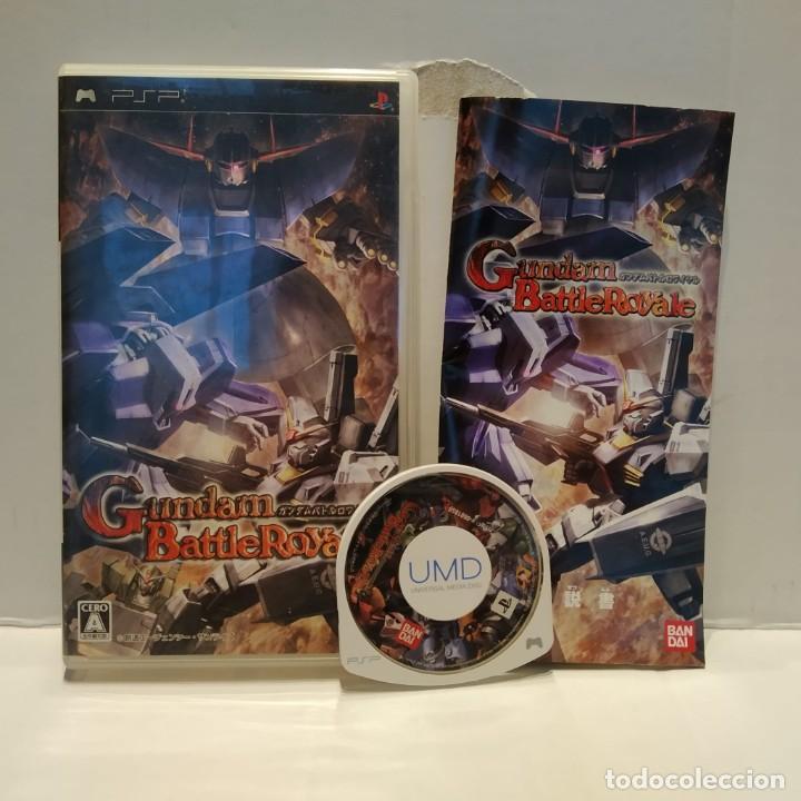 JUEGO PSP - GUNDAM BATTLEROYALE (Juguetes - Videojuegos y Consolas - Sony - Psp)