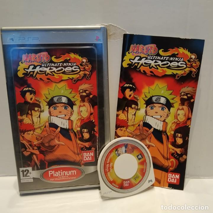 JUEGO PSP - NARUTO ULTIMATE NINJA HEROES (Juguetes - Videojuegos y Consolas - Sony - Psp)