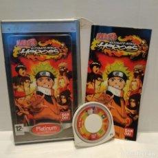 Videojuegos y Consolas: JUEGO PSP - NARUTO ULTIMATE NINJA HEROES. Lote 206424803