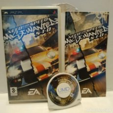 Videojuegos y Consolas: JUEGO PSP - NEED FOR SPEED, MOST WANTED 5-1-0. Lote 206424997