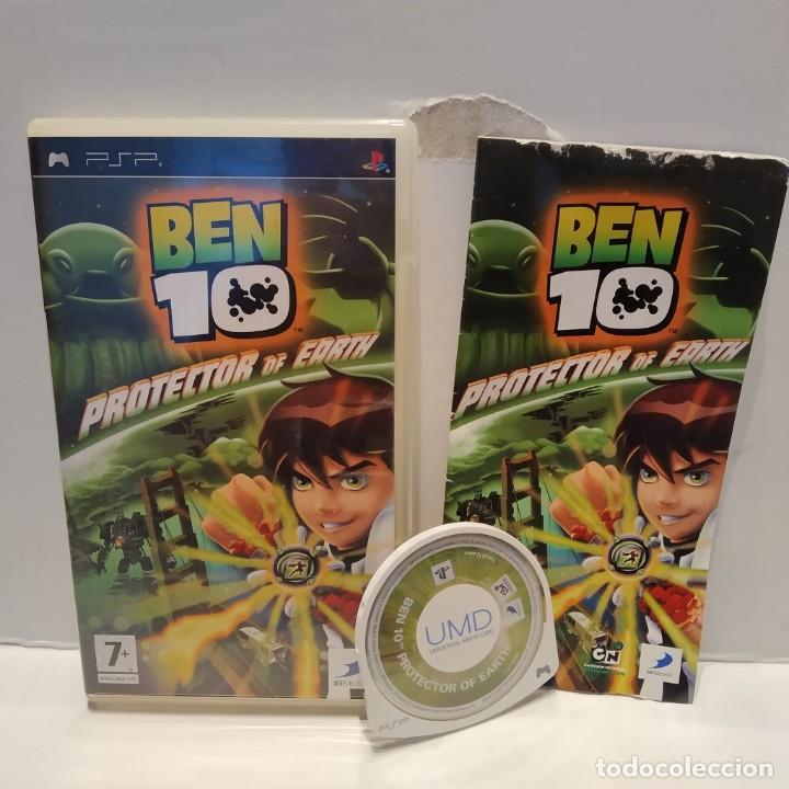 JUEGO PSP - BEN TEN PROTECTOR OF EARTH (Juguetes - Videojuegos y Consolas - Sony - Psp)