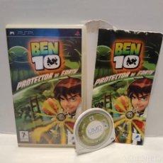 Videojuegos y Consolas: JUEGO PSP - BEN TEN PROTECTOR OF EARTH. Lote 206426700