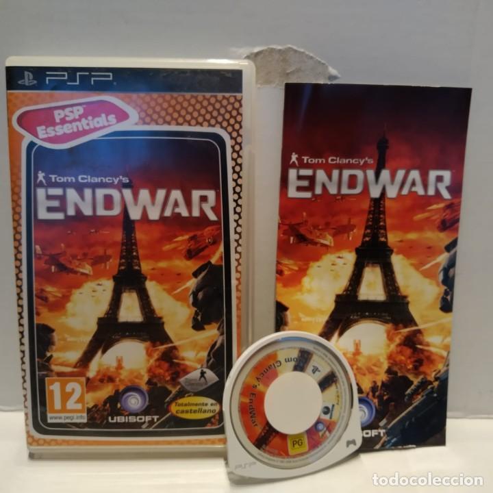 JUEGO PSP - TOM CLANCY'S ENDWAR (Juguetes - Videojuegos y Consolas - Sony - Psp)