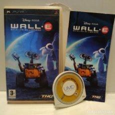 Videojuegos y Consolas: JUEGO PSP - WALL·E BATALLÓN DE LIMPIEZA, WALLE. Lote 206429260