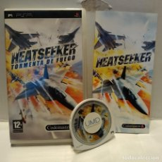 Videojuegos y Consolas: JUEGO PSP - HEATSEEKER, TORMENTA DE FUEGO. Lote 206429323