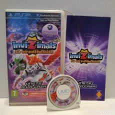 Videojuegos y Consolas: JUEGO PSP - INVIZIMALS LA OTRA DIMENSIÓN. Lote 206430955