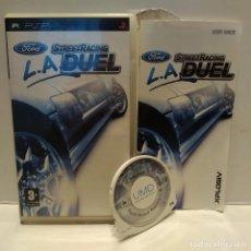 Videojuegos y Consolas: JUEGO PSP - FORD L.A. STREET RACING DUEL. Lote 206431053