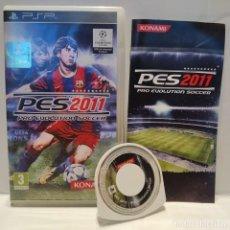 Videojuegos y Consolas: JUEGO PSP - PES 2011 PRO EVOLUTION SOCCER. Lote 206431181