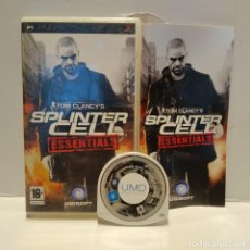 Videojuegos y Consolas: JUEGO PSP - TOM CLANCY'S SPLINTER CELL ESSENTIALS. Lote 206431455