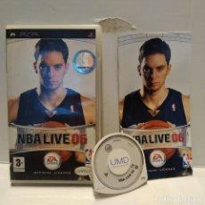 Videojuegos y Consolas: JUEGO PSP - NBA LIVE 06. Lote 206431561