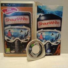 Videojuegos y Consolas: JUEGO PSP - SHAWN WHITE SNOWBOARDING. Lote 206431833