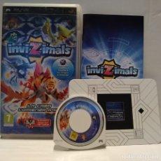 Videojuegos y Consolas: JUEGO PSP - INVIZIMALS LA CAZA COMIENZA AQUÍ. Lote 206431982