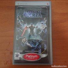 Jeux Vidéo et Consoles: STAR WARS EL PODER DE LA FUERZA PSP. Lote 206571896