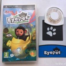 Videojuegos y Consolas: EYE PET EXPLORADORES PSP PLAYSTATION PORTABLE KREATEN. Lote 209933901