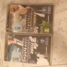 Videojuegos y Consolas: FOOTBALL MANAGER HANDHELD 2011 Y 2013 PARA PSP. Lote 210838005