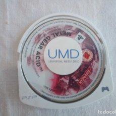 Videojuegos y Consolas: 55-JUEGO PSP METAL GEAR ACID, SIN CAJA.. Lote 211515462