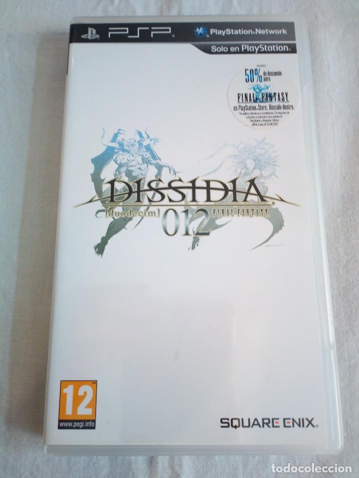 42-JUEGO PSP DISSIDIA, FINAL FANTASY 12, CON MANUAL Y CAJA. (Juguetes - Videojuegos y Consolas - Sony - Psp)