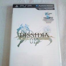 Videojuegos y Consolas: 42-JUEGO PSP DISSIDIA, FINAL FANTASY 12, CON MANUAL Y CAJA.. Lote 211515709