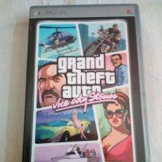 Videojuegos y Consolas: 41-JUEGO PSP GRAND THEFT AUTO, VICE CITY STORIES, CON MAPA POSTER , MANUAL Y CAJA.. Lote 211515796