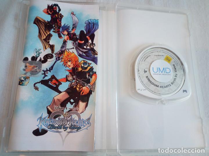 Videojuegos y Consolas: 36-JUEGO PSP KINGDOM HEARTS, birth by sleep, con manual y caja - Foto 3 - 211515986