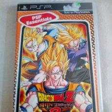 Videojuegos y Consolas: 38-JUEGO PSP DRAGON BALL Z SHIN BUDOKAI 2, CON MANUAL Y CAJA, BANDAI. Lote 211516050