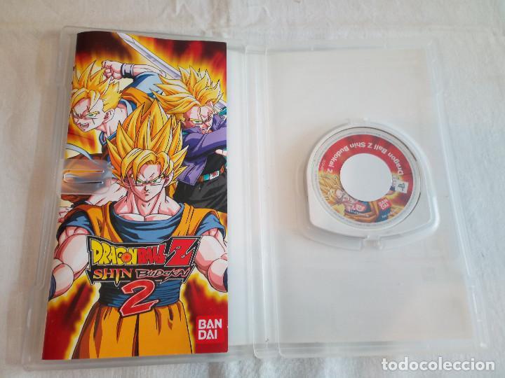 Videojuegos y Consolas: 38-JUEGO PSP DRAGON BALL Z SHIN BUDOKAI 2, con manual y caja, bandai - Foto 3 - 211516050