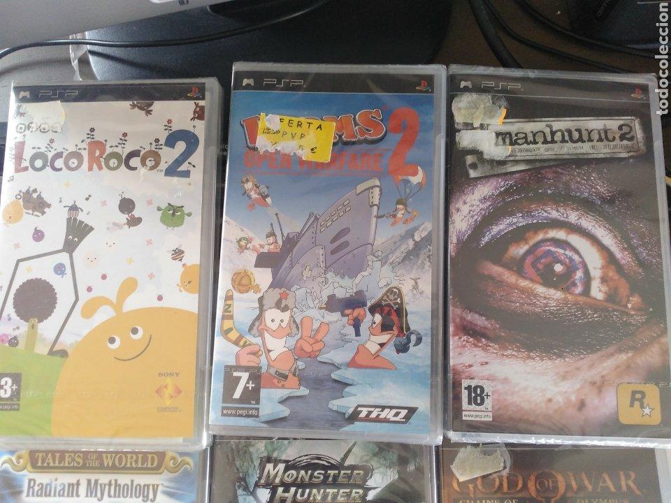 Videojuegos y Consolas: Lote juegos PSP precintados - Foto 2 - 211578841