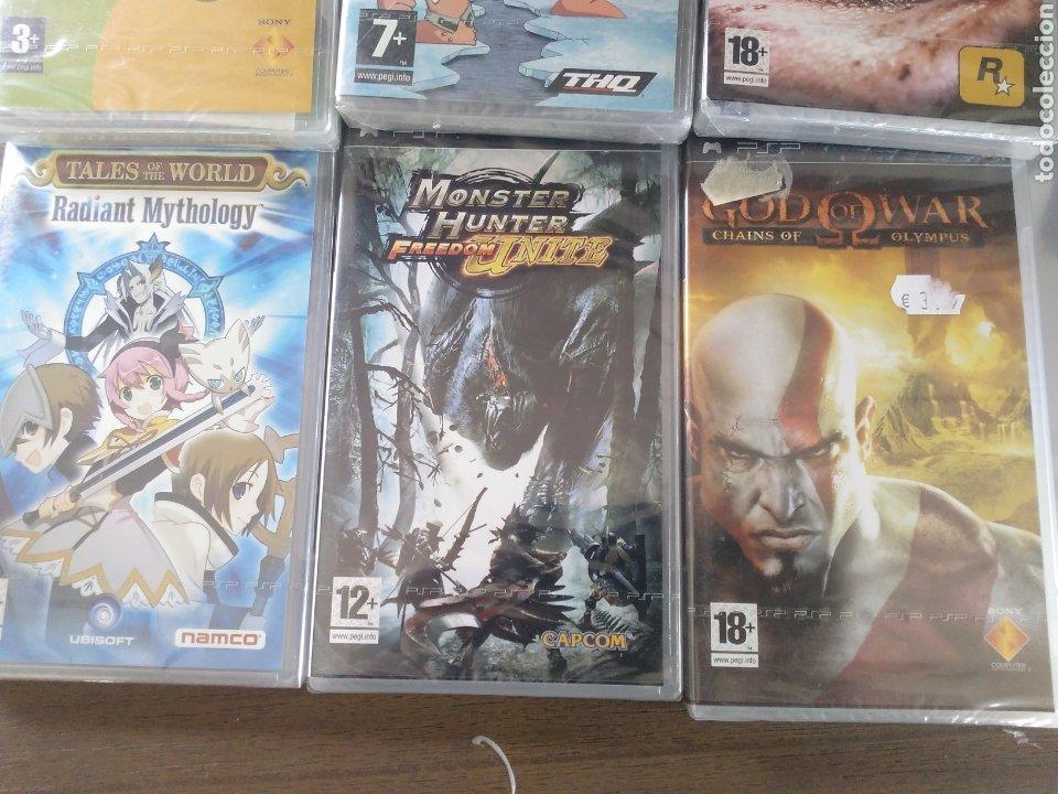 Videojuegos y Consolas: Lote juegos PSP precintados - Foto 3 - 211578841