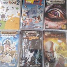 Videojuegos y Consolas: LOTE JUEGOS PSP PRECINTADOS. Lote 211578841