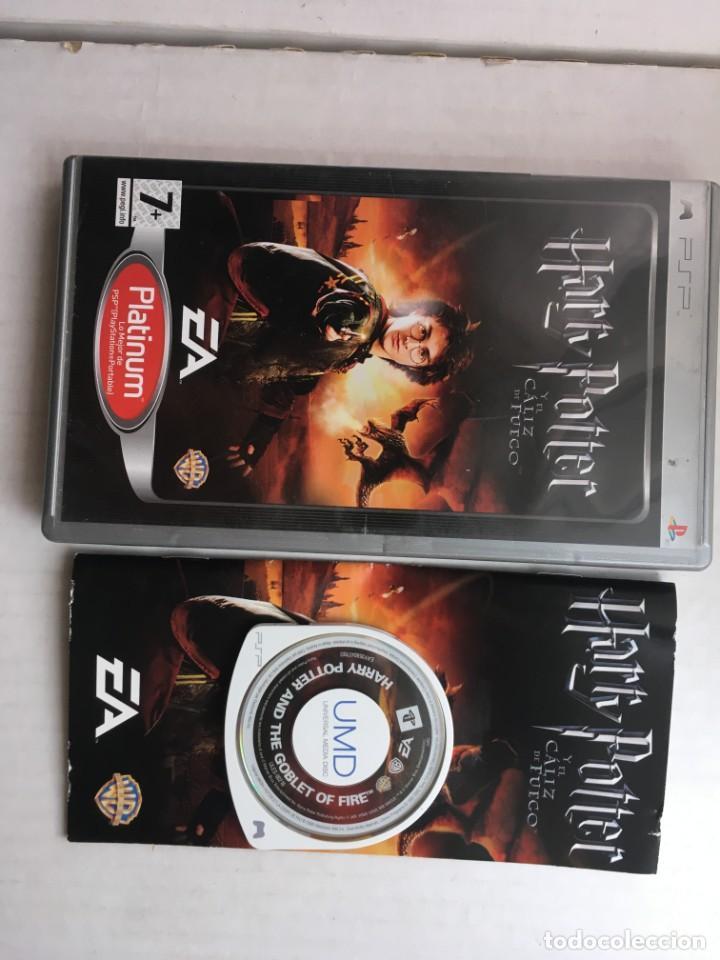 HARRY POTTER Y EL CALIZ DE FUEGO PLATINUM PSP PLAYSTATION PORTABLE KREATEN (Juguetes - Videojuegos y Consolas - Sony - Psp)