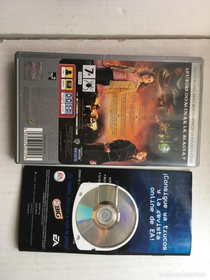 Videojuegos y Consolas: HARRY POTTER Y EL CALIZ DE FUEGO PLATINUM PSP PLAYSTATION PORTABLE KREATEN - Foto 2 - 211679160