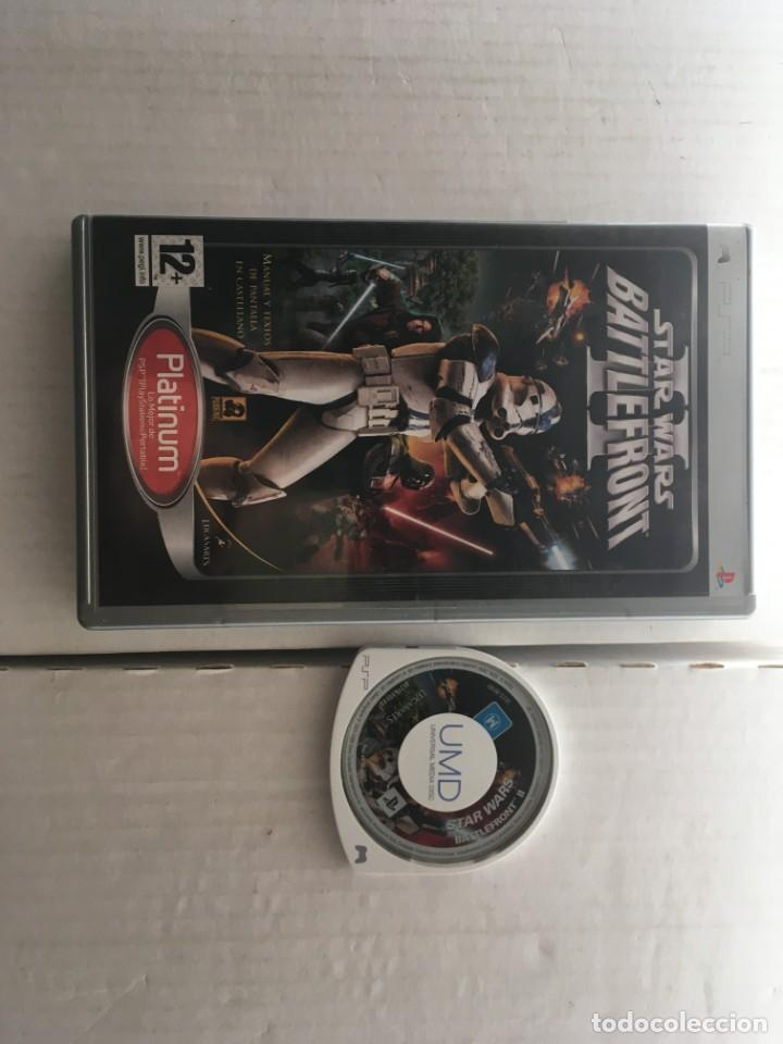 STAR WARS BATTLEFRONT II 2 STARWARS WAR STARS PSP PLATINUM KREATEN (Juguetes - Videojuegos y Consolas - Sony - Psp)