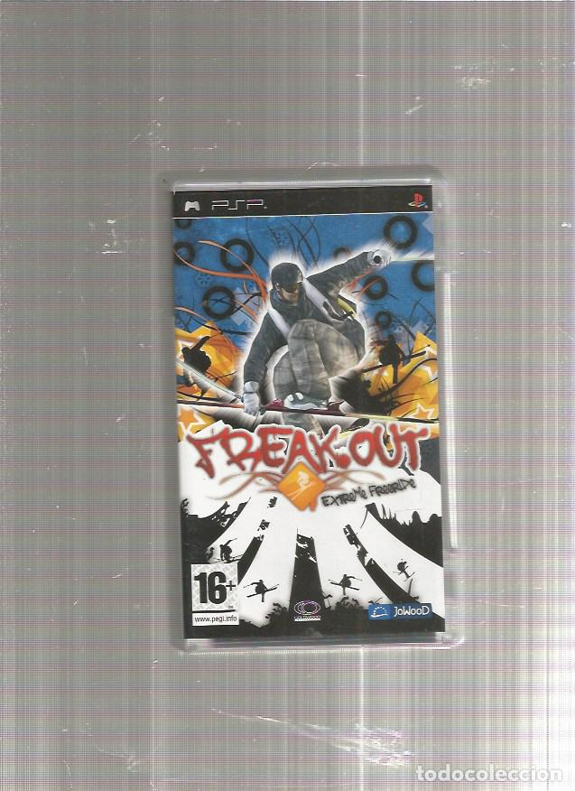 PSP FREAK OUT (Juguetes - Videojuegos y Consolas - Sony - Psp)