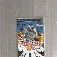 Videojuegos y Consolas: PSP FREAK OUT. Lote 212066763