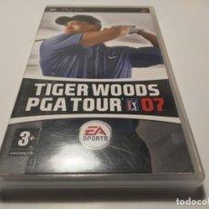 Videojuegos y Consolas: TIGER WOODS PGA TOUR 07 PSP EA VIDEOJUEGO EN INGLÉS. Lote 212503022