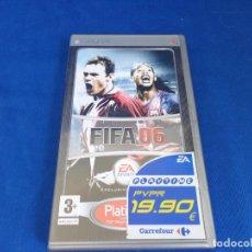 Videojuegos y Consolas: PSP - VIDEOJUEGO PSP FIFA 06, VER FOTOS! SM. Lote 212981312
