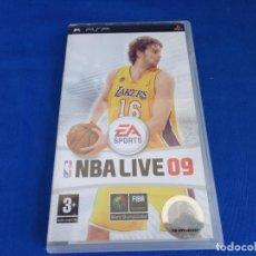 Videojuegos y Consolas: PSP - VIDEOJUEGO PSP NBA LIVE 09, VER FOTOS! SM. Lote 212981535