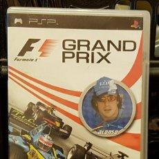 Videojuegos y Consolas: GRAND PRIX FERNANDO ALONSO + INSTRUCCIONES. Lote 213715883